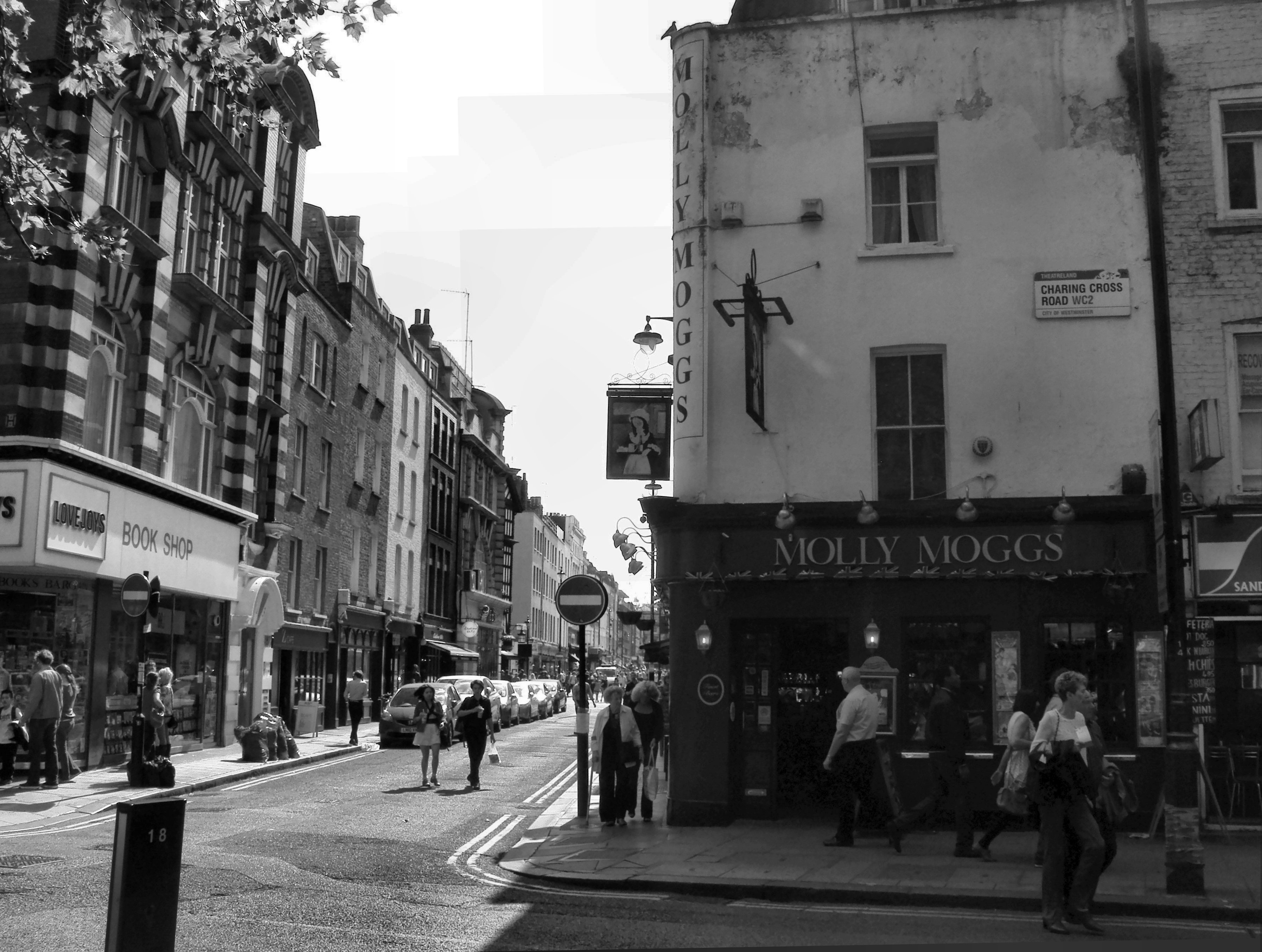 Where Was The Black Cat Old Compton Street London