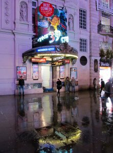 The Criterion Theatre, in Coventry Street, where 'The 39 Steps' is currently showing...