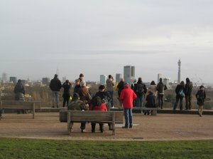 Atop Primrose Hill, and the weather today was mercifully kind ;)...