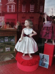 Chantelle shop window...