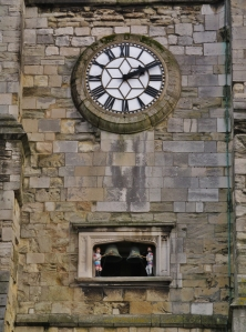 Clock and bells, Holy Rood Church...
