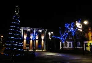 Gosport High Street, near the Conservative Club...