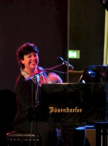 This week's Friday Tonic gig, in the Clore Ballroom of the Royal Festival Hall, between 5.30 pm and 7.00 pm, was The Liane Carroll Trio, and excellent they were too :)