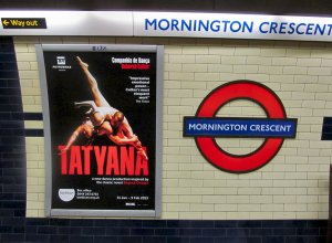 ...and back home via Mornington Crescent station, at the southern end of Camden Town...