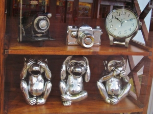 Window display in 'Room' shop, West Street, Fareham