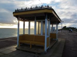 Seating on Southsea seafront...