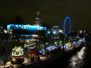 London's South Bank, from Waterloo Bridge...