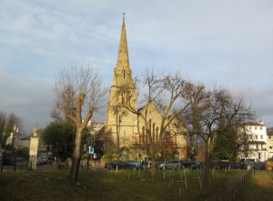 St Mark's Church, in Prince Albert Road, north of Regent's Park, south of Primrose Hill...