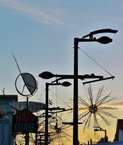 Fareham West Street morning skyline...